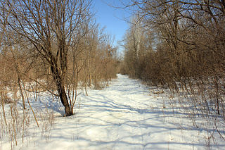Minnesota Valley State Trail multi-use recreation pathway along the Minnesota River