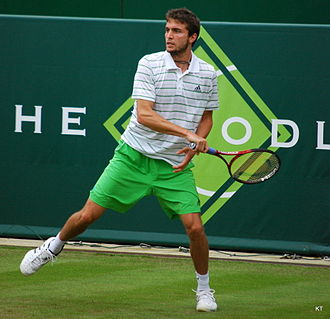 Gilles Simon - Gilles Simon in action in 2011