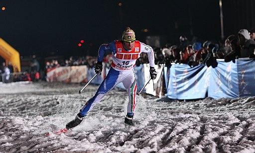 Giorgio Di Centa at Ski Sprint Praha