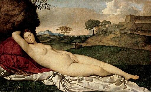 Giorgione - Sleeping Venus - Google Art Project 2