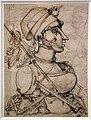 Giuseppe arcimboldo, figura a mezzo busto formata con utensili da cucina, 1550-90 ca. (parigi, ecole nat. sup. des beaux- arts).jpg