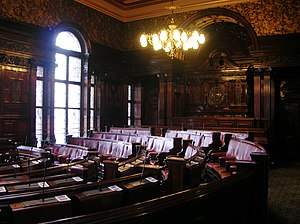 Glasgow City Chambers - The Council Chamber.
