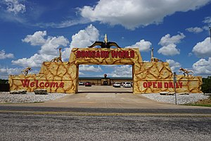 Dinosaur World (theme parks) - Dinosaur World in Glen Rose, Texas