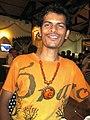 Goa musician Roque Lazarus 01.jpg
