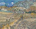 Gogh, Vincent van - Landscape at Saint-Rémy (Enclosed Field with Peasant) - Google Art Project.jpg