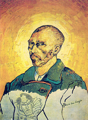 William Goetz - In 1949, a controversy erupted over the Vincent van Gogh self-portrait called Study by Candlelight