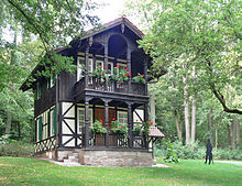 Das Goldberghaus, Rückerts Wirkungsstätte bei Neuses (Quelle: Wikimedia)