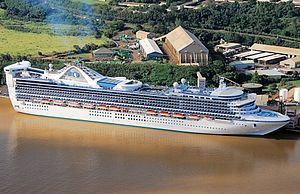 Golden Princess at Nawiliwili in Kauai.JPG