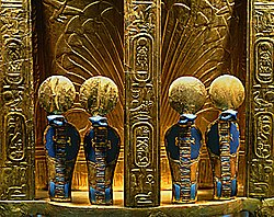 Golden Uraes Cobra Tutankhamun's Throne.jpg