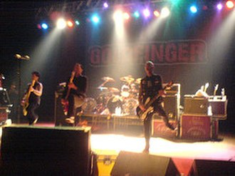 Goldfinger (band) - Goldfinger live in 2006.