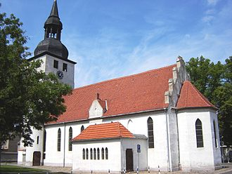 Gommern - Image: Gommernkirche