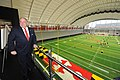 Governor Visits University of Maryland Football Team (36087990054).jpg