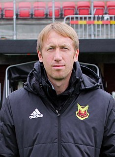 Graham Potter English association football player and manager