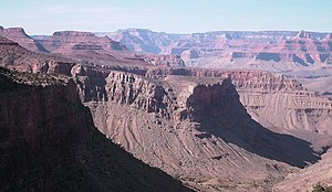 Monocline - The Grandview-Phantom Monocline in the Grand Canyon, Arizona