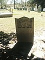 Grave of Joel Holleman, Ivy Hill Cemetery, Smithfield, Virginia.jpg