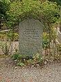 Grave of professor Bengt Edlén in Lund Sweden.JPG