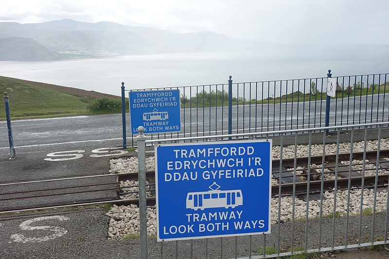 File:Great Orme Tramway Signs 2.jpg