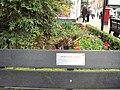 Great fire of Nantwich memorial bench - DSC09172.JPG
