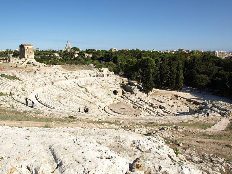 Greek theater of Syracuse AvL.JPG