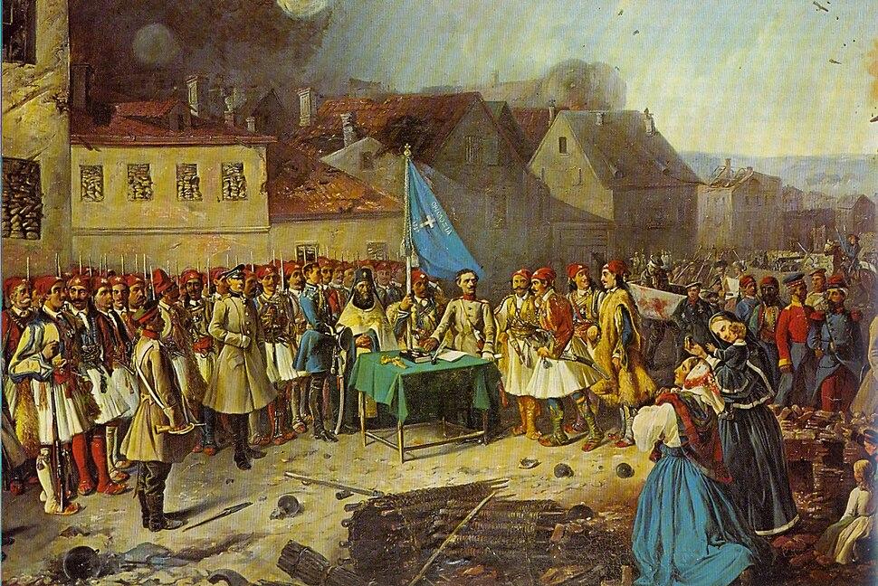 Greek volunteers in Sevastopol 1854