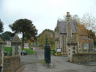 Greenbank, Bristol - Image: Greenbank Cemetery, Greenbank Road entrance