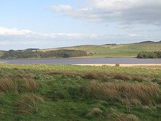 Greenlee Lough lake in the United Kingdom