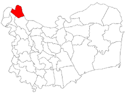 Location of Grindu