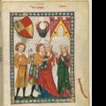 Große Heidelberger Liederhandschrift (Codex Manesse) — Zürich, ca. 1300 bis ca. 1340.png