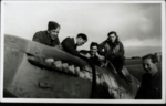 Ground Crew and pilot with Spitfire at RAF Andreas.png