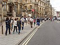 Group of tourists in The Broad, Oxford - geograph.org.uk - 1399624.jpg