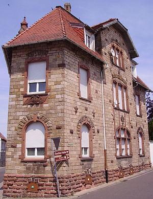 Hettenleidelheim - Gründerzeit house