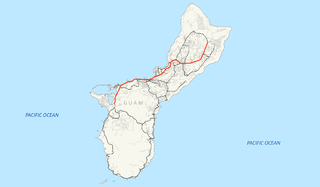Guam Highway 1 Highway in Guam