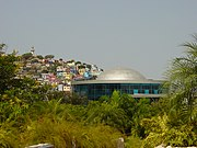 An IMAX dome in Guayaquil, Ecuador.