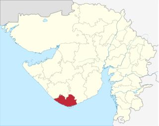 Gir Somnath district district in Gujarat, India