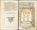 Gustav II Adolfs bibel 1618 - Song of Solomon ch. 8 + Major Prophets and Minor Prophets title page.jpg