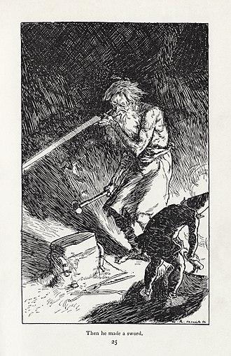 H. R. Millar - Image: H. R. Millar Rudyard Kipling Puck of Pook's Hill 2