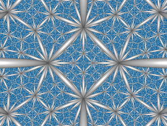 Paracompact uniform honeycombs - Image: H3 436 CC center