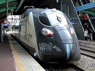 Experimental South Korean high-speed train