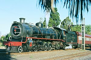 South African Class 14C 4-8-2, 3rd batch - Class 14CRB no. 2004, Robertson, 1979