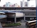 HK 觀塘 Kwun Tong 開源道 Hoi Yuen Road MTR exit footbridge view October 2018 SSG 13.jpg