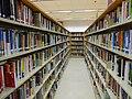 HK 香港仔公共圖書館 Aberdeen Public Library interior bookshelves May 2016 DSC 002.jpg