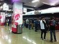 HK Hung Hom MTR Station platform 07 visitors Feb-2013.JPG