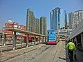 HK Hung Hom Railway Station B T 紅磡鐵路巴士站 半島豪庭 Royal Peninsula Mar-2013 KMBus staff n Fortune Metropolis.JPG