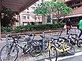 HK TKO 將軍澳 Tseung Kwan O 唐俊街 Tong Chun Street bicycle parking May 2019 SSG 02.jpg