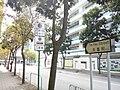HK TSW 天水圍新市鎮 Tin Shui Wai Tin Hei Street name sign Dec 2016 Lnv2 Sik Sik Yuen Ho Ming Primary School.jpg
