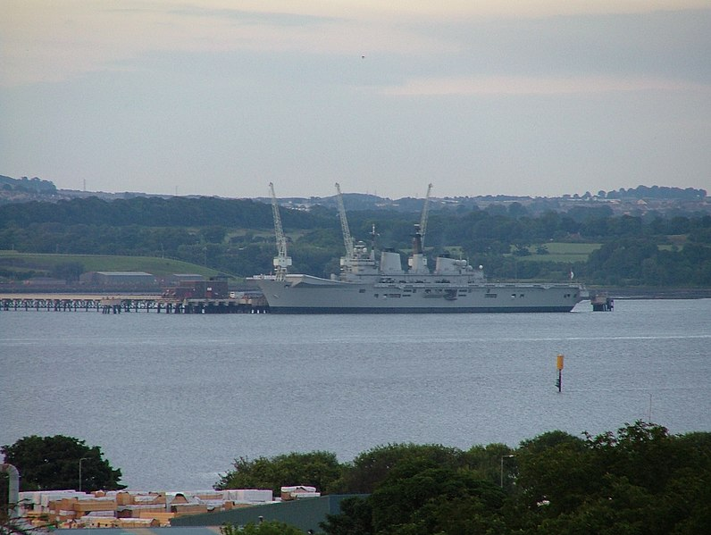 File:HMS Ark Royal at Crombie point - panoramio.jpg