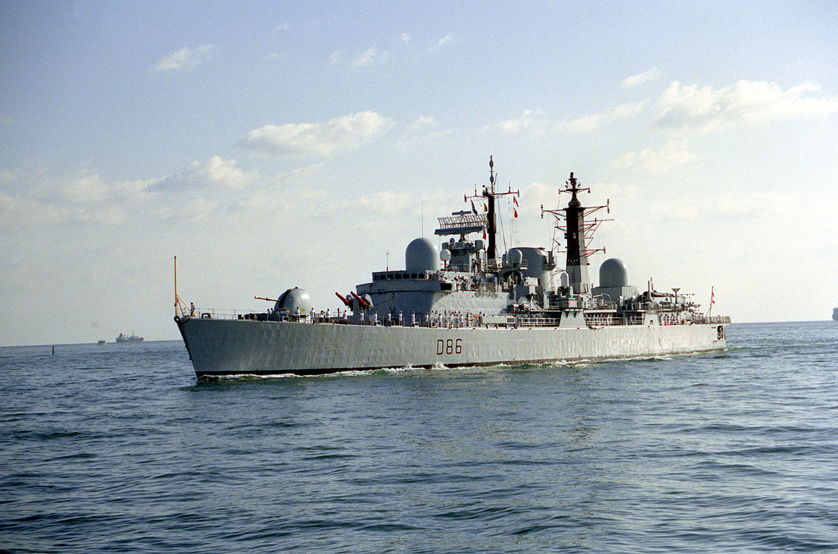 Type 42 Destroyer Wikipedia The Answer Is Power Supplies Part 2