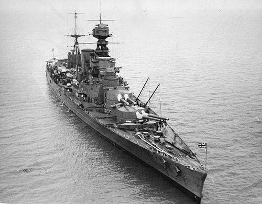 HMS Hood HU67486