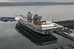 HMS Queen Elizabeth Under Construction MOD 45158465.jpg