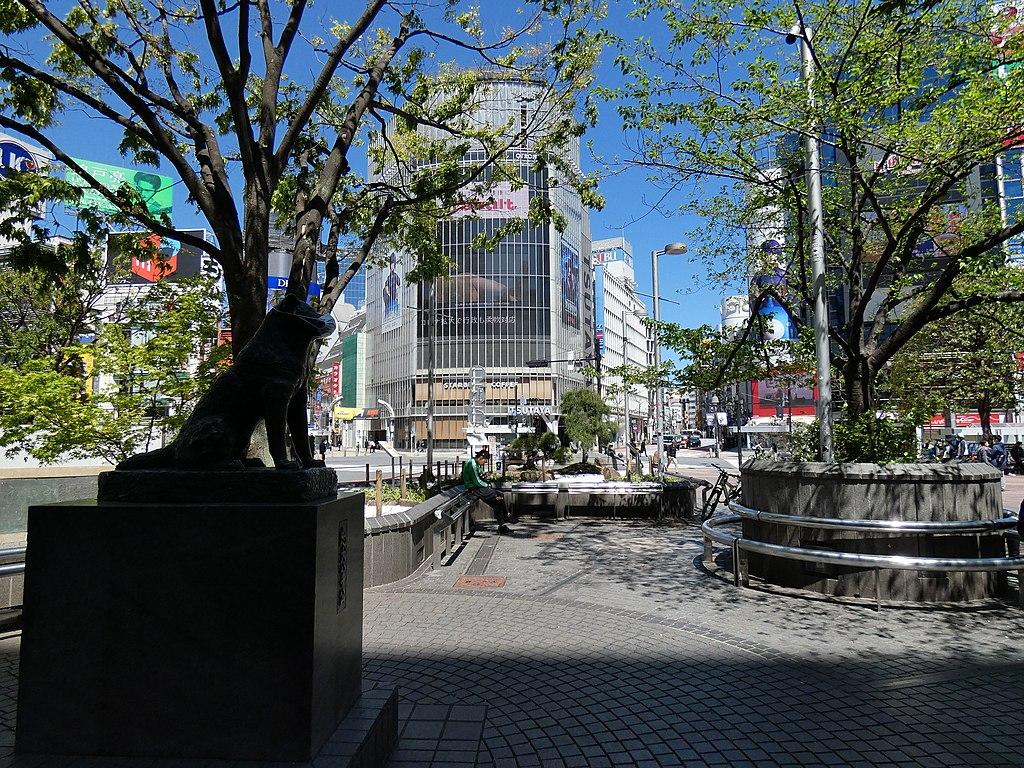 Hachiko square 2020-04-19